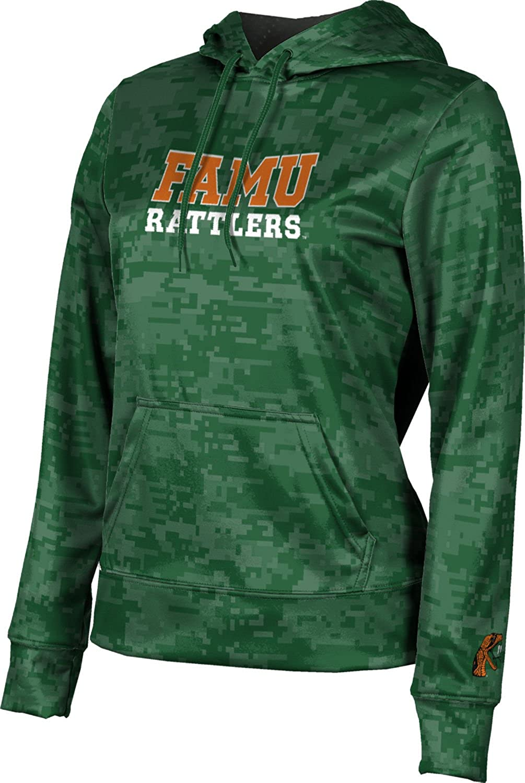 ProSphere Florida A&M University Girls' Pullover Hoodie, School Spirit Sweatshirt (Digi Camo)