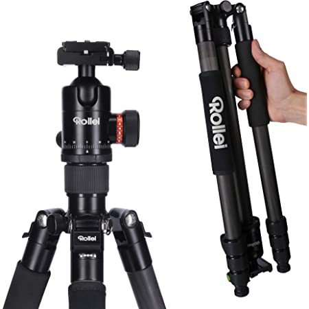 Rollei C6i Carbon Kompaktes Leichtes Fotostativ Aus Kamera