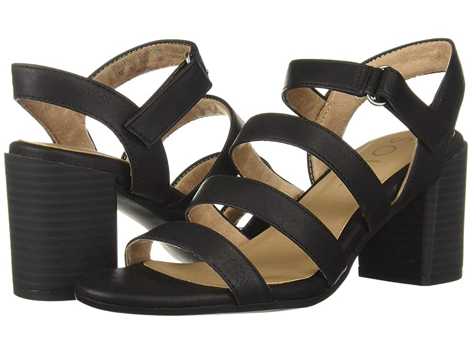 SOUL Naturalizer Celene (Black Smooth) High Heels