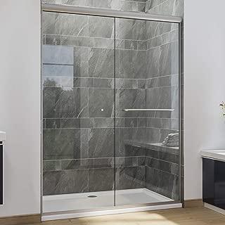 SUNNY SHOWER Semi-Frameless Shower Door 1/4