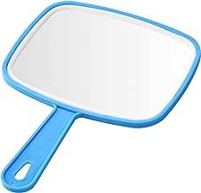 EVELYN LIVING Hand Held Mirror Professional Salon Style Hand Held Vanity Mirror Makeup Tool