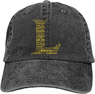 league of legends baseball cap