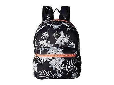 Roxy Infinite Ocean Backpack (True Black Full Bicolys) Backpack Bags