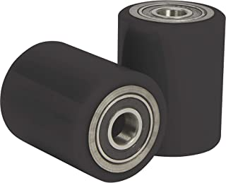 Strongway Front Pallet Truck Replacement Wheels - Pair, 3in. Dia.