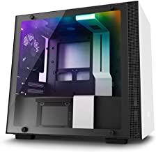 NZXT H200i - Mini-ITX PC Gaming Case - RGB Lighting and Fan Control - CAM-Powered Smart Device - Enhanced Cable Management...