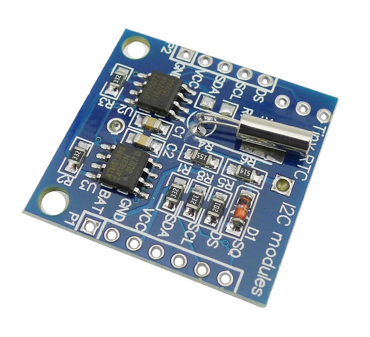 同性愛者首インクKKHMF DS1307 RTC クロックモジュール小型RTC I2C 24C32メモリArduino用