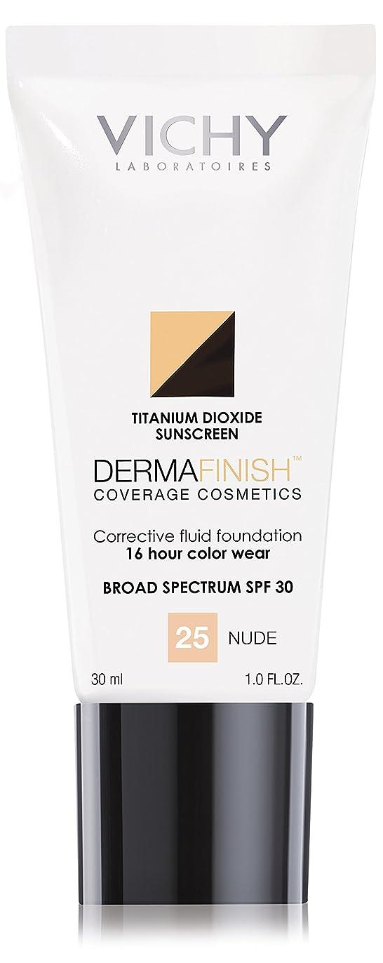 引き渡すペンフレンド道徳ヴィシー Dermafinish Corrective Fluid Foundation SPF30 - #Nude 25 30ml