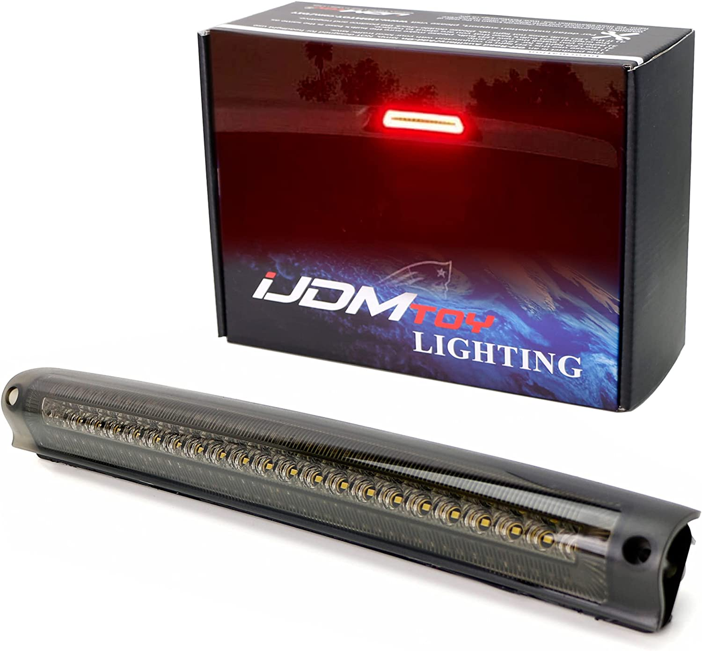 iJDMTOY Smoked 25% OFF Lens F1 Style Max 56% OFF Strobe LED C Mount Brake Third High