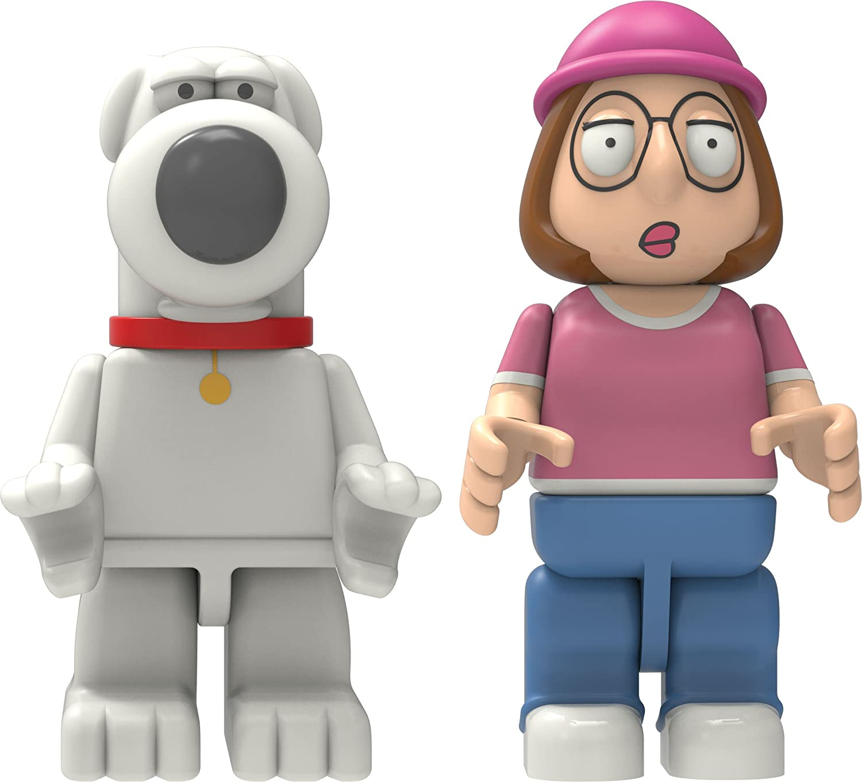 K 'NEX Brian und Meg bebaubar Figur