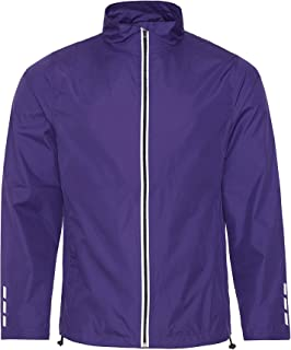 Just Cool Adults Unisex Showerproof Running Jacket