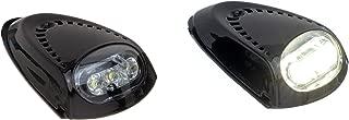 Attwood 6523BK7 LED Boat Docking Light, Black Finish, Set of 2