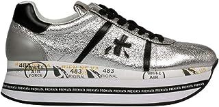 PREMIATA Luxury Fashion Womens BETHVAR3643 Silver Sneakers | Fall Winter 19