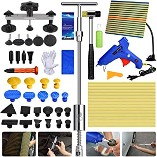 Fly5D Auto Body Dent Removal Repair Kit PDR Tools DIY Pops a Dent Bridge Puller with Glue Gun