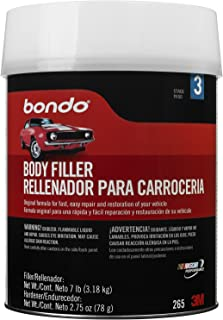 Bondo Body Filler W Hardener, Paste, 1 Gal, Gray