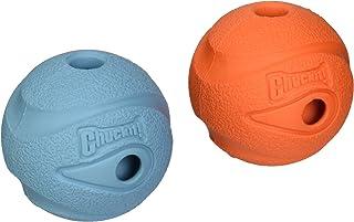 Chuckit The Whistler Chuck-It Ball Dog Toy Medium 2-Pack
