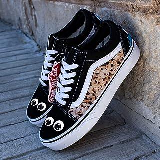 e1c843fbba Vans Black Old Skool x Cookie Eating Monster Custom Handmade Uni-Sex Shoes  By Patch