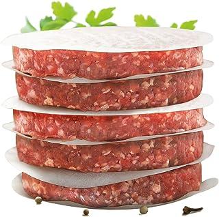 Int. rend–pratique de papier pour Burger Patties parfaite | 500pièces Cire Diamètre: 11cm | Hamburger Papier ciré pou...