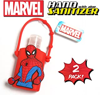 Official Marvel Hand Sanitizer with Aloe (2, Red - Spiderman)