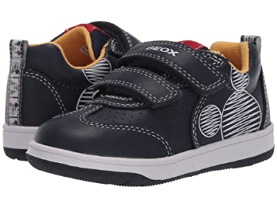 Geox Kids New Flick 16 Mickey Mouse (Toddler)1 (Navy) Boy