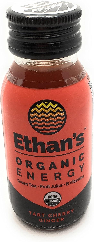 ETHANS Tart Cherry Ginger Philadelphia Mall Energy Shot Sale SALE% OFF 2 FZ Duo
