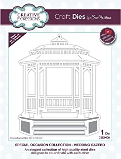 Sue Wilson Designs - Special Occasions Collection - Wedding Gazebo (CED9405)