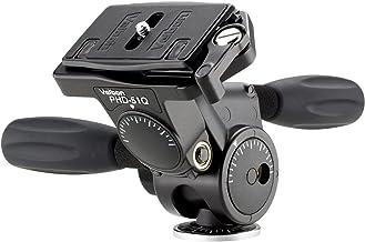 Velbon PHD-51Q 3-Way Head + Q/R Negro Cabeza de Impresora