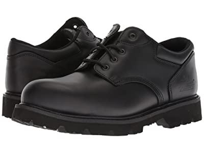 Thorogood Uniform Classic Leather Oxford Steel Safety Toe (Black) Men