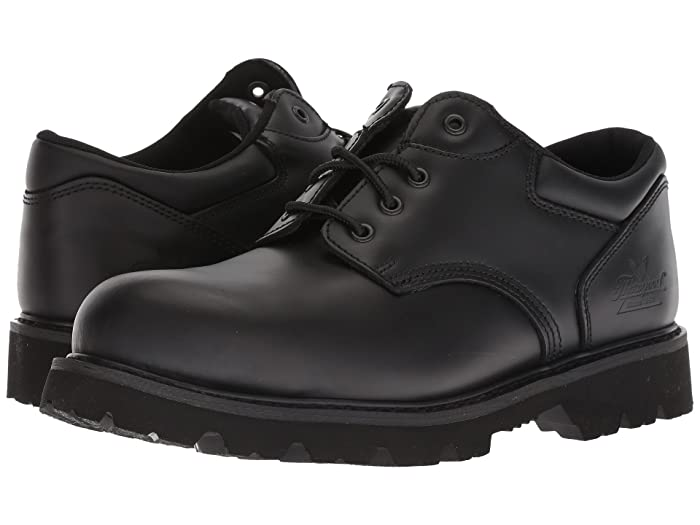 Thorogood  Uniform Classic Leather Oxford Steel Safety Toe (Black) Mens Work Boots