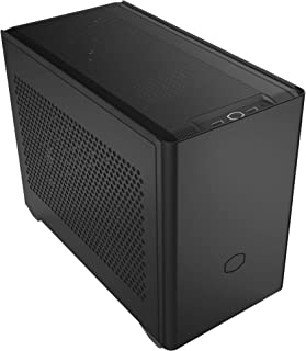 Cooler Master NR200 SFF Small Form Factor Mini-ITX Case with Vented Panel, Triple-Slot GPU, Tool-Free and 360 Degree Acces...