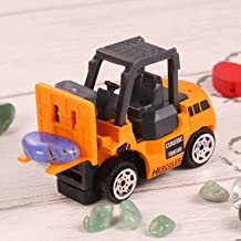 hotstype Construction Engineering Vehicle Pull Back Toy Car, Mini Truck Bulldoze Excavator Dump Car Truck Model Toy for Toddlers Kids Boys Girls Gift (Fork Truck)