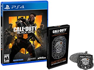 Call of Duty: Black Ops 4 - PlayStation 4 with DOG TAGS Limited Edition
