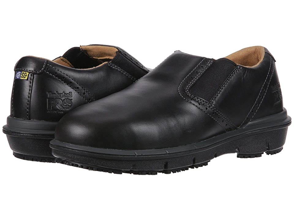 Timberland PRO Boldon Slip-On Alloy Safety Toe SD+ (Black) Men