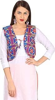 Vastraa Fusion Women's Ethnic Cotton Jacket