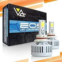 Optix P.RA 80W 8000LM LED Headlight Conversion Kit - 9006 HB4 Low Beam/Fog Light Bulbs - 6000K 6K Diamond White - Premium Epistar COB Chip - Canbus Chip Error Free No Flicker Plug and Play Design