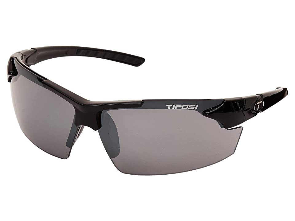 Tifosi Optics Jettm FC (Gloss Black) Athletic Performance Sport Sunglasses