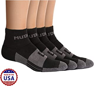 Trail Running Socks for Men and Women, Made in USA - 2 Pair Pack