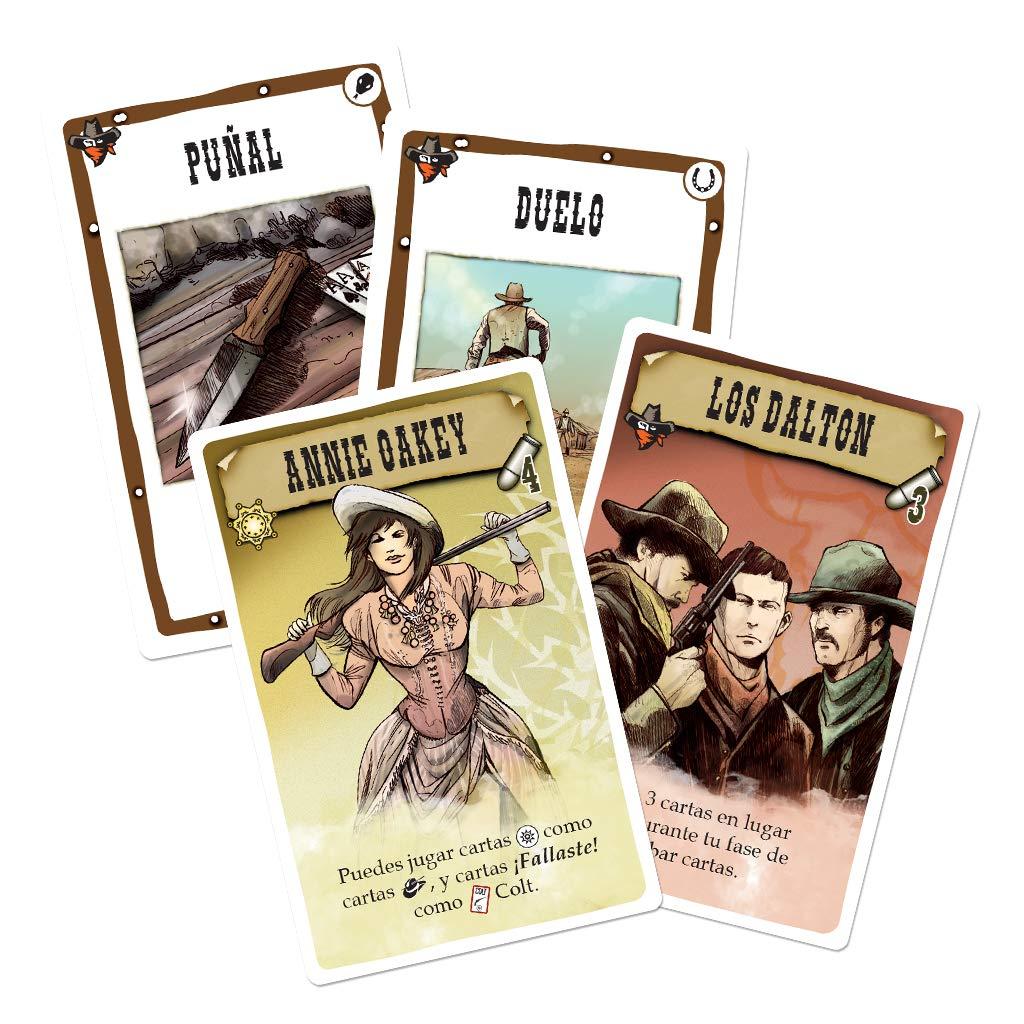 Edge Entertainment Bang El Duelo, Juego de Cartas (EDGBA30): Amazon.es: Juguetes y juegos