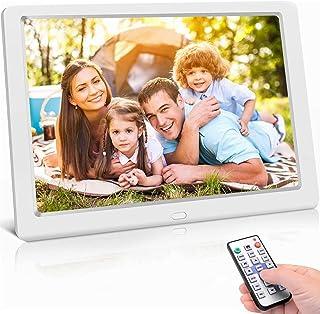 Digitale fotolijst 10 inch hoge resolutie (1024 x 600) video/foto/muziekspeler, digitale klok, kalender, wekker, elektroni...