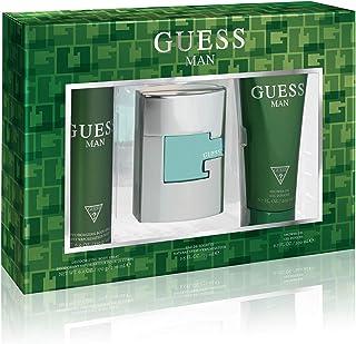 Guess Green For Men Eau de Toilette 75ml+200ml Sg+226ml Body Spray Set (2020)