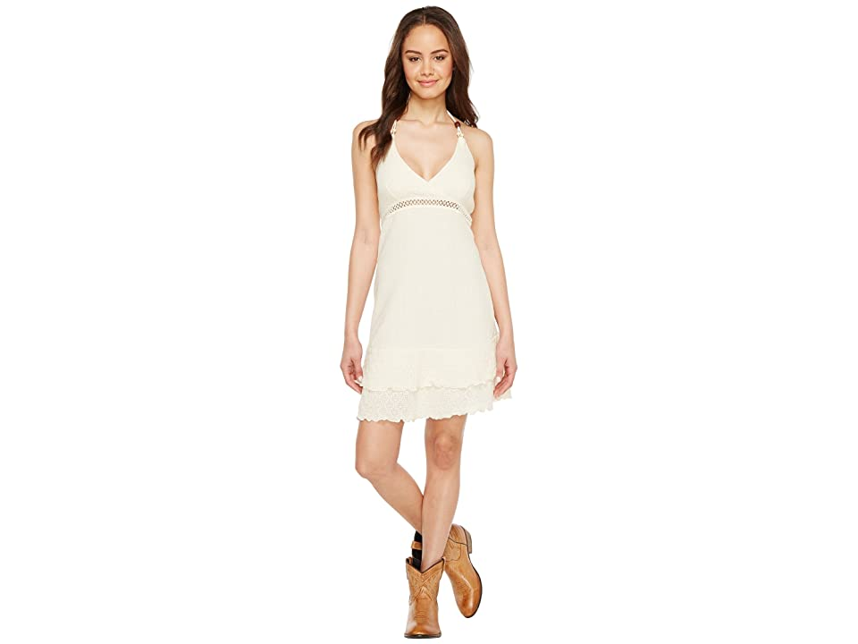 Scully Cantina Feline Organic Cotton Dress (Natural) Women