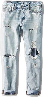 【アメリカンイーグル】 AMERICAN EAGLE トムガールデストロイジーンズパンツ AE TOMGirl Destroy Jeans 【並行輸入品】