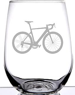 bike wine glasses