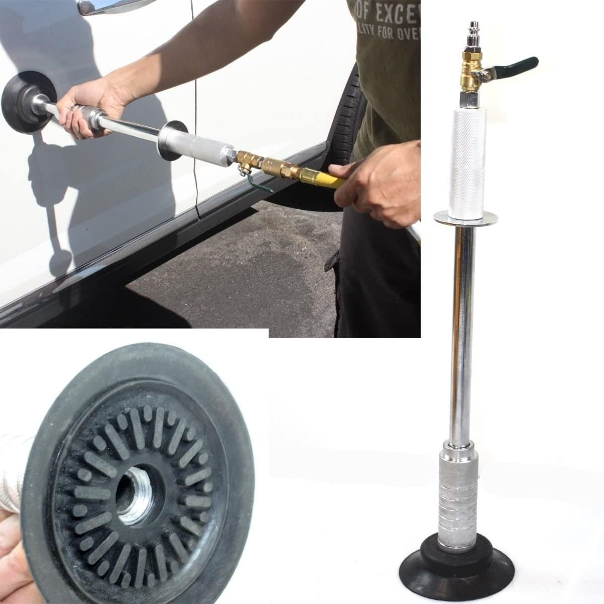 Pneumatic Air Suction OFFicial store Auto Body Popular standard Dent Hammer Puller Remo W Slide