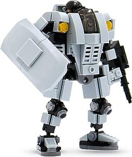 MyBuild Mecha Frame Mech Suit Model Kit Building Blocks Toy Base Defender MF05-A01