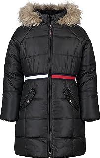 Girls' Long Length Puffer Jacket