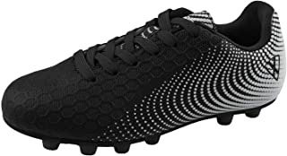 Vizari Unisex-Kid's Stealth FG Black/White Size 10 Soccer Shoe