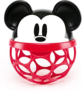 Bright Starts Disney Baby Minnie Mouse Rattle Along Buddy Easy-Grasp Toy, Ages Newborn +