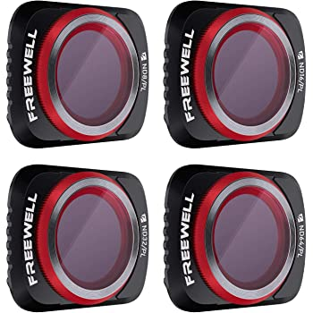 Freewell Bright Day - 4K Series - 4Pack Filters Compatible with Mavic Air 2 Drone