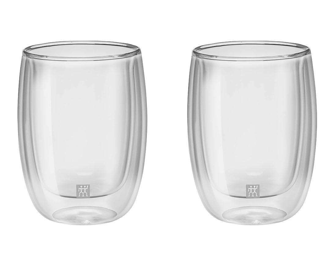 スクワイア電気的つま先Zwilling ツヴィリング 「 ダブルウォール グラス コーヒー 200ml 2pcs セット 」タンブラー 耐熱 二重構造 コーヒーカップ 【日本正規販売品】 39500-076