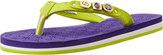 Sole Threads Women's Pixie Purple Flip-Flops and House Slippers